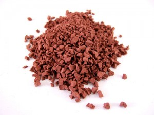 red epdm rubber granules